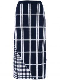 Tartan Signature Skirt by Victoria Beckham at Farfetch