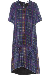 Tartan dress by Preen at Net A Porter