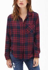 Tartan shirt at Forever 21