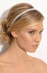 Tasha Solid Rows of Crystal Headband at Nordstrom