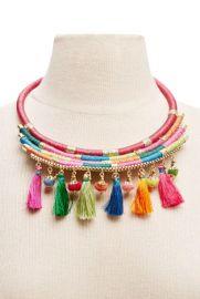 Tassel necklace at Forever 21