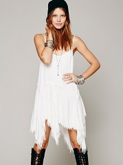 Tattered Up Shred Slip at Free People