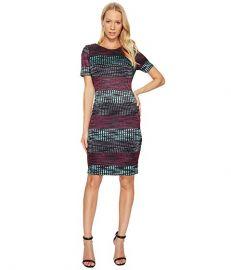 Taylor Striped Knit Sheath Dress at 6pm