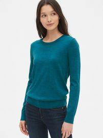 Teal Sweater at Gap