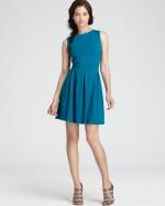Teal blue dress by Aqua at Bloomingdales