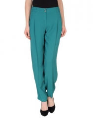 Teal high waisted pants by Kenzo at Yoox