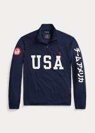 Team USA One-Year-Out Mesh Pullover by Ralph Lauren at Ralph Lauren
