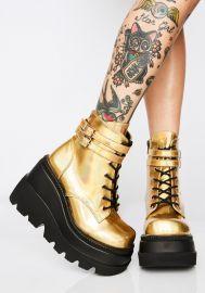 Technopagan Boots by Demonia x Dolls Kill at Dolls Kill