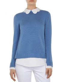 Ted Baker Bronwen Layered-Look Sweater at Bloomingdales