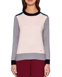 Ted Baker Colour by Numbers Avrilyn Color-Block Sweater x at Bloomingdales