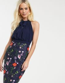 Ted Baker Shimma bodycon dress in hedgerow print   ASOS at Asos