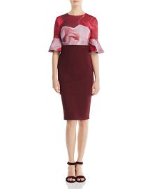 Ted Baker Tzalva Porcelain Rose Dress x at Bloomingdales