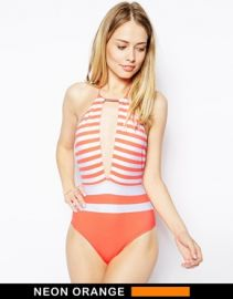 Ted Baker  Ted Baker Lealla Swimsuit at Asos