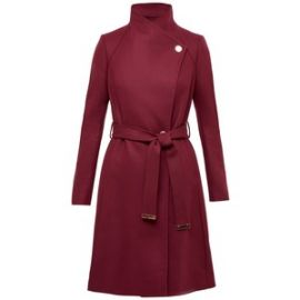 Ted Baker Aurore Long Wrap Collar Coat  at Ted Baker