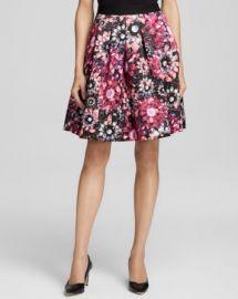Ted Baker Crystal Brooch Print Full Skirt - Bloomingdaleand039s Exclusive at Bloomingdales