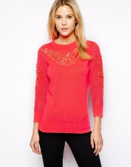 Ted Baker Cutout Sweater at Asos