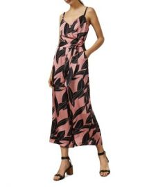Ted Baker Diantha Sour Cherry Palm-Printed Jumpsuit Women - Bloomingdale s at Bloomingdales