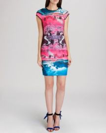 Ted Baker Dress - Ismay Road To Nowhere Print at Bloomingdales