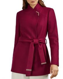 Ted Baker Drytaa Belted Short Coat Women - Bloomingdale s at Bloomingdales
