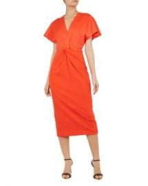Ted Baker Ellame Twist-Front Dress Women - Bloomingdale s at Bloomingdales
