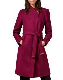 Ted Baker Ellgenic Long Belted Coat Women - Bloomingdale s at Bloomingdales