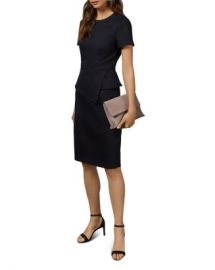 Ted Baker Elynah Working Title Asymmetric Peplum Dress Women - Bloomingdale s at Bloomingdales