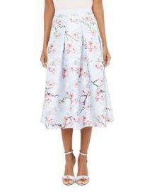 Ted Baker Floral-Printed Midi Skirt at Bloomingdales