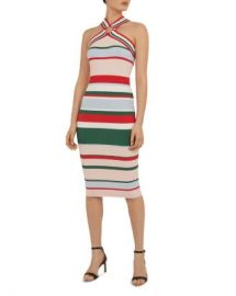 Ted Baker Iyndiaa Striped Bodycon Dress Women - Bloomingdale s at Bloomingdales