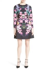 Ted Baker London   Toona Fit  amp  Flare Dress   Nordstrom Rack at Nordstrom Rack