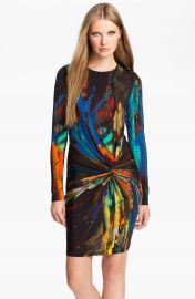Ted Baker London   x27 Pennii  x27  Print Jersey Sheath Dress   Nordstrom at Nordstrom