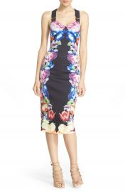 Ted Baker London  Deony  Buckle Strap Sheath Dress at Nordstrom