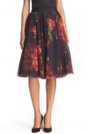 Ted Baker London  Ondra - Juxtapose Rose  Tutu Midi Skirt at Nordstrom