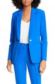 Ted Baker London Ariee Longline Single Breasted Blazer   Nordstrom at Nordstrom