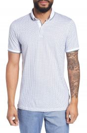 Ted Baker London Aven Slim Fit Print Polo at Nordstrom