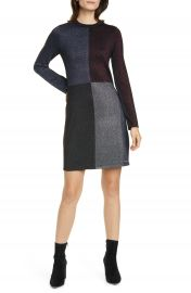 Ted Baker London Colour by Numbers Redlo Metallic Long Sleeve Sweater Dress   Nordstrom at Nordstrom