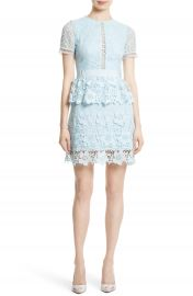 Ted Baker London Dixa Layered Lace Skater Dress at Nordstrom