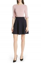 Ted Baker London Dyana Frilled Knit Minidress   Nordstrom at Nordstrom