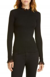 Ted Baker London Frill Trim Sweater   Nordstrom at Nordstrom