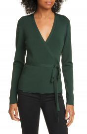Ted Baker London Gworji Long Sleeve Wrap Sweater   Nordstrom at Nordstrom
