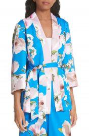Ted Baker London Harmony Pleat Back Kimono Jacket at Nordstrom