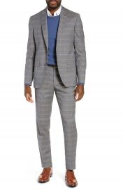 Ted Baker London Jay Trim Fit Plaid Wool Suit   Nordstrom at Nordstrom