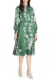 Ted Baker London Jhenni Graceful Satin A-Line Dress at Nordstrom