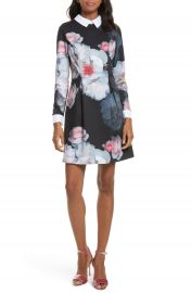 Ted Baker London Kaleesa Chelsea Flower Collar Dress at Nordstrom