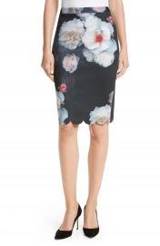 Ted Baker London Laylie Chelsea Print Pencil Skirt at Nordstrom
