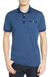 Ted Baker London Otto Jacquard Polo at Nordstrom
