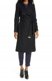 Ted Baker London Rose Wool  amp  Cashmere Blend Wrap Coat   Nordstrom at Nordstrom