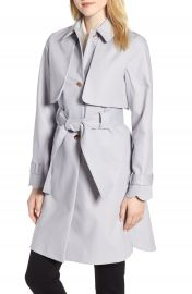 Ted Baker London Scallop Detail Trench Coat   Nordstrom at Nordstrom