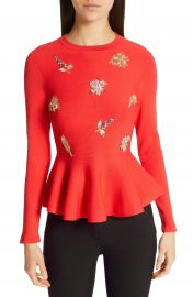 Ted Baker London Tynna Embellished Sweater at Nordstrom