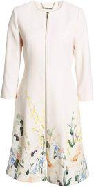Ted Baker Luluuu Elegant Textured Dress Coat at Amazon