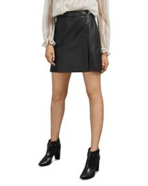 Ted Baker Lyley Faux Leather Mini Skirt Women - Bloomingdale s at Bloomingdales